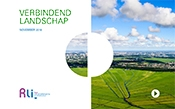 cover of the publication with the title and photo with landscape of a polder