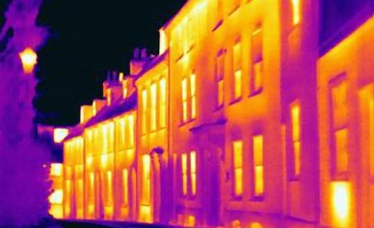 heat photo houses