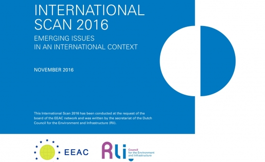 Cover with title International Scan 2016