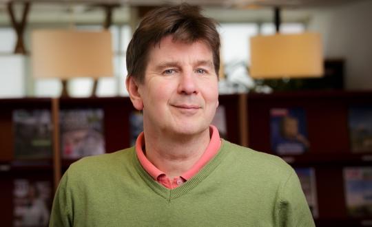 Portrait Ton Wagenveld
